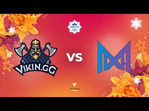 ViKin.GG Vs Nigma - Map1 | En-VODs | WePlay! Bukovel Minor | Qualifiers