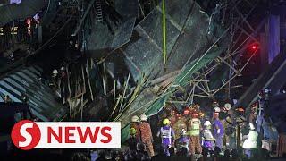 Two dead at MRR2 bridge collapse