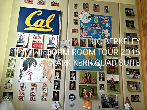 UC Berkeley Dorm Room Tour 2016 || Clark Kerr Quad Suite