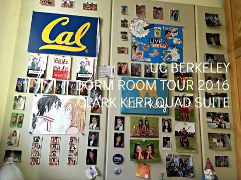 UC Berkeley Dorm Room Tour 2016 || Clark Kerr Quad Suite