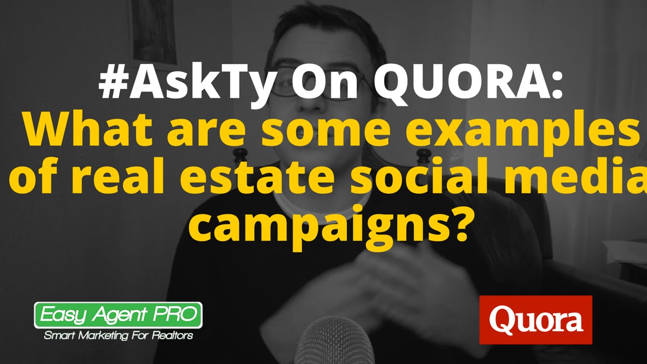 Quora #AskTy #3: What are examples of successful real estate ...