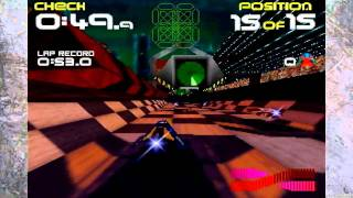 Wipeout 64- N64- Gameplay