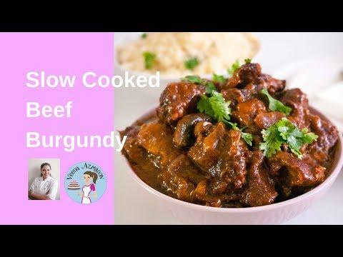 Slow Cooker Best  Beef Burgundy |Best Slow Cooker Beef Bourguignon