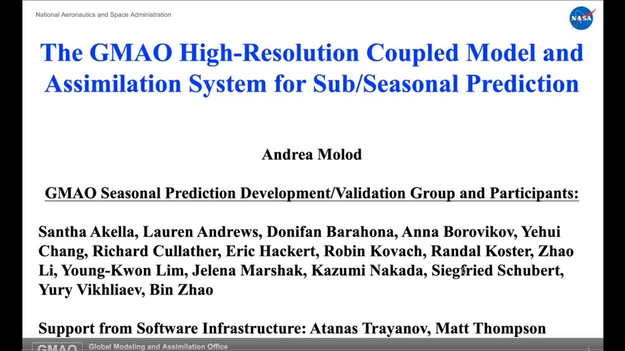 The GMAO High-Resolution Coupled Model and Assimilation System for Seasonal Prediction