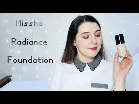 Missha Radiance Foundation