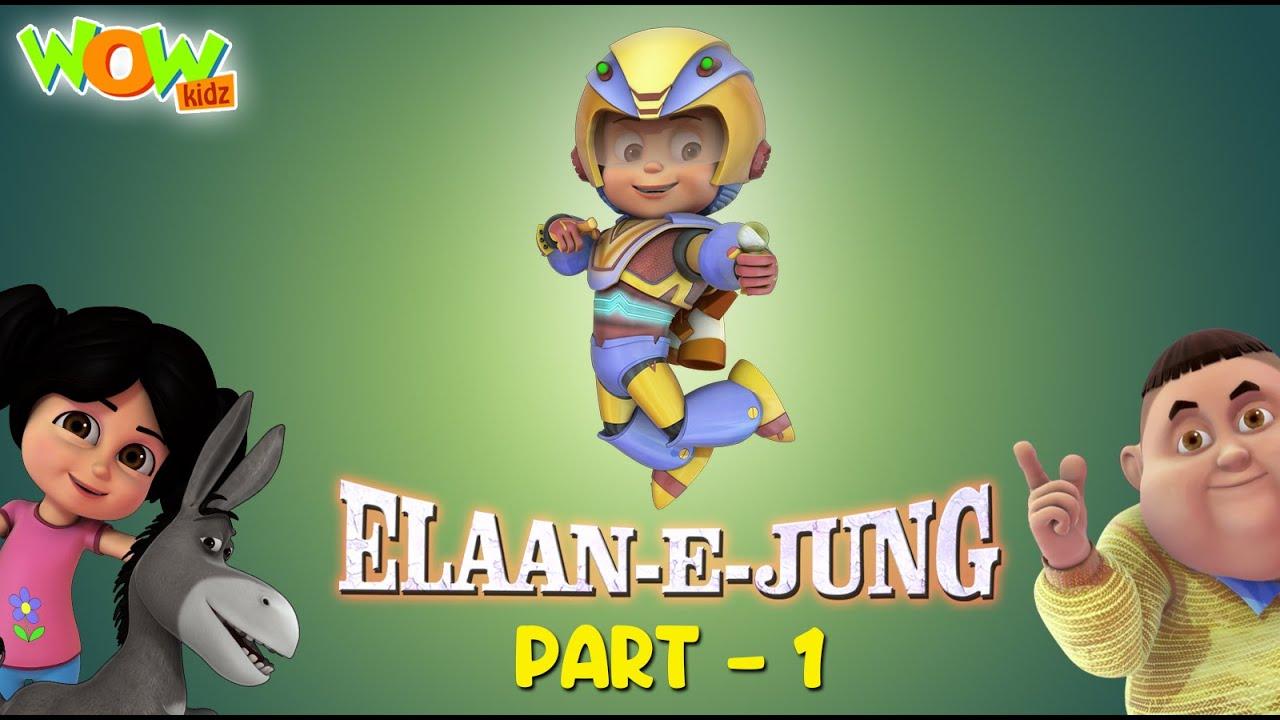 Vir The Robot Boy | Ailan E Jung Movie | Cartoon Movies For Kids | Wow Kidz