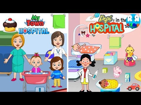 New Ba Born in My Town Hospital and Pepi Hospital  Best Pretendplay App for Kids