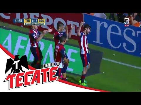 Gol de Rodolfo Pizarro | Tigres 0 - 2 Chivas | Clausura 2017 - Final - Ida | Presentado por Tecate