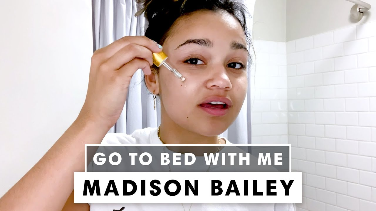 'Outer Banks' Star Madison Bailey's Nighttime Skincare Routine