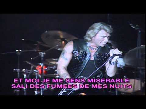 johnny hallyday karaok lorada tour j 39 la croise tous les matins youtube. Black Bedroom Furniture Sets. Home Design Ideas