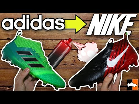 How To Make adidas Boots Into Nike! Part #2