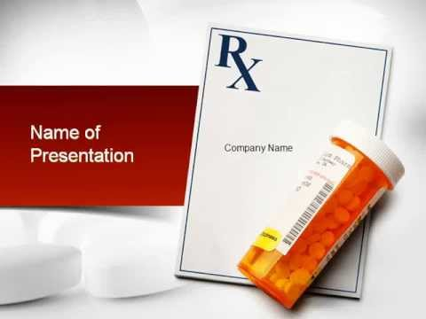 Prescription drugs rx powerpoint template youtube prescription drugs rx powerpoint template toneelgroepblik Gallery