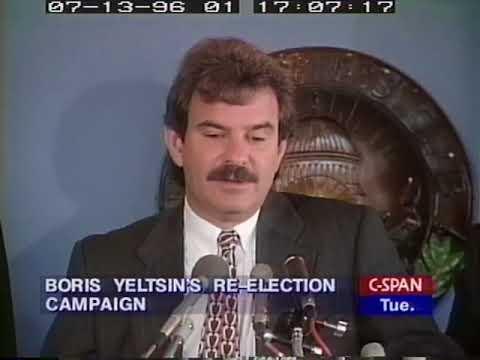 US Role in Boris Yeltsin's 1996 Reelection Campaign - Russia