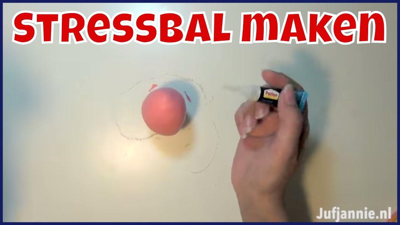 Fonkelnieuw Stressballen maken van meel en ballonnen - YouTube VM-92