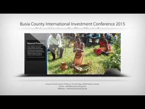 BCIIC 2015 - Cultural Heritage Profile of Busia County
