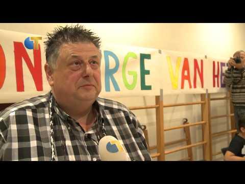 Frans van den Abbeelen Conciërge van het Jaar - Omroep Tilburg Nieuws