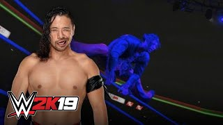 Shinsuke Nakamura recreates Naomi's entrance in WWE 2K19