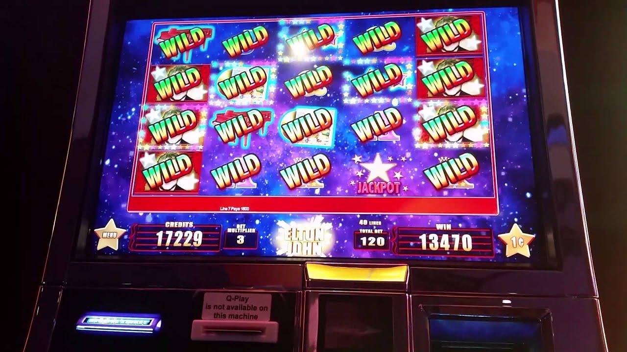 elton john slot machine