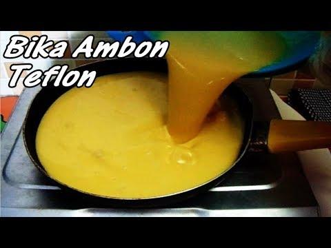Cara Membuat Bika Ambon Teflon Bahan Simpel 2 Telur