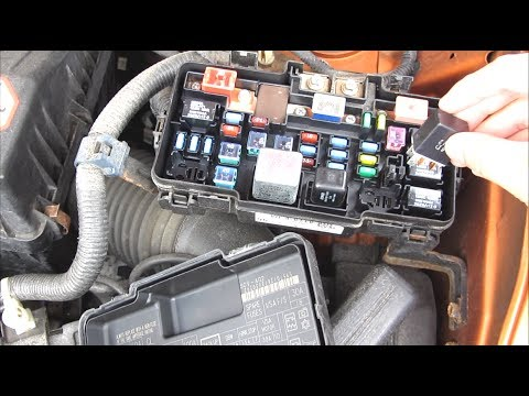 Honda A/C Fuse Relay Troubleshooting Problem and Solution