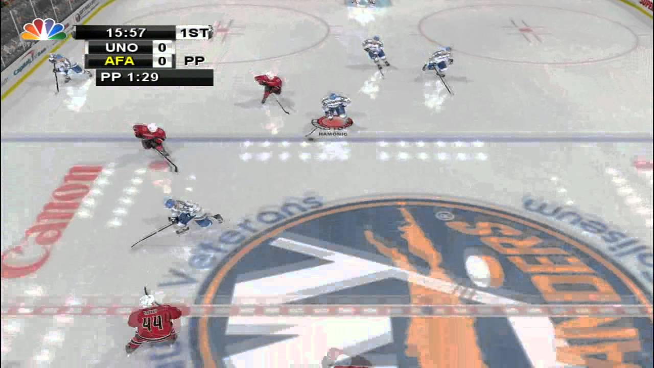 first glimpse of college hockey 2013 nhl 2004 mod youtube