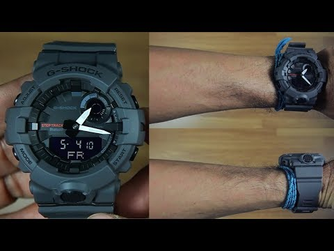 CASIO G-SHOCK G-SQUAD GBA-800-8A BLUETOOTH - UNBOXING - YouTube 771f7e99c25