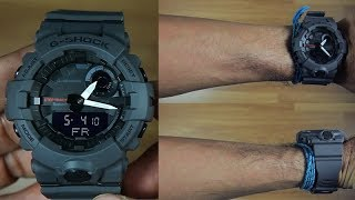 CASIO G-SHOCK G-SQUAD GBA-800-8A BLUETOOTH - UNBOXING