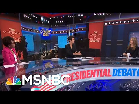 Trump Destroys Another American Civic Institution With Debate Performance | Rachel Maddow | MSNBC
