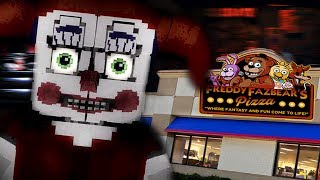BUILDING OUR OWN SECRET ANIMATRONIC LOCATION!   Minecraft FNAF (Five Nights at Freddys)