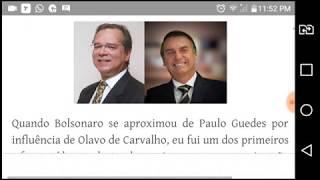 """Paulo Guedes """"de Bolsonaro"""" lucra com fraude no BNDES"""