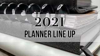 2021 Planner Line Up