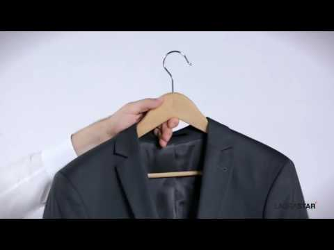 How to prepare a jacket - The British Butler Academy Housekeeping training tutorial video