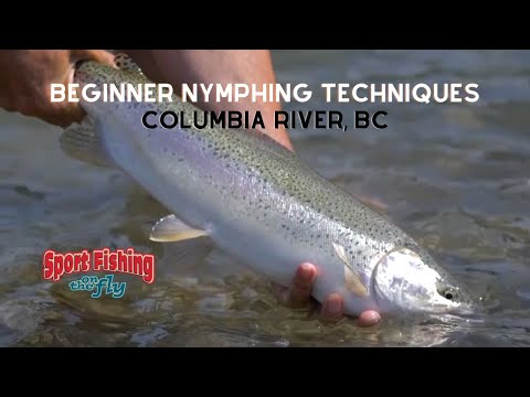 How To Fly Fish Nymphs In Big Holes On Big Rivers