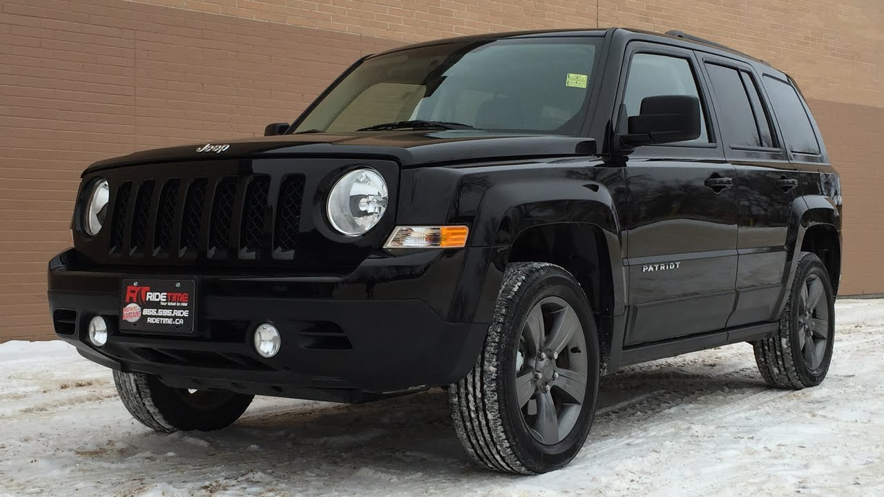 2015 Jeep Patriot High Altitude 4WD   Leather, Sunroof, Heated Seats | HUGE  VALUE   YouTube