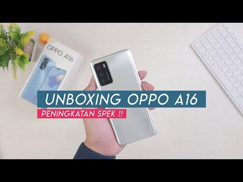 BARU LAGI !! UNBOXING OPPO A16   SPESIFIKASI DAN HARGA