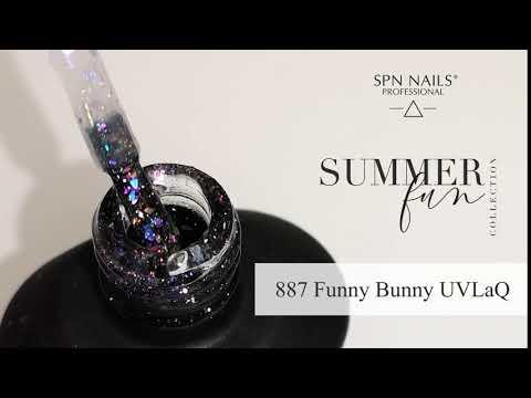 Video: 887 Funny Bunny UV LaQ 8ml