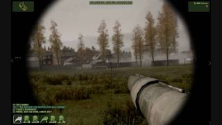 [HD] ArmA 2 - Singleplayer Tank Scenario Mission Footage