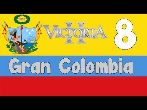 Victoria 2 HPM mod - Gran Colombia 8