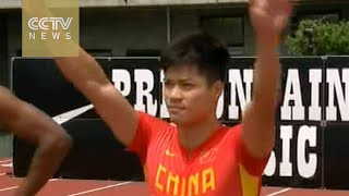 China's Su Bingtian, first Asian-born to beat 100m 10-second barrier