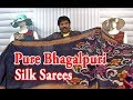 Pure Bhagalpuri Silk Sarees /  Just 999 Only / Printed Designs