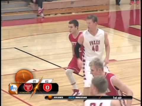 High School Boys Basketball Yorkville, IL vs Ottawa, IL 2016
