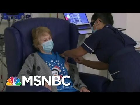 British Woman Is First To Receive BioNTech-Pfizer Covid Vaccination   Morning Joe   MSNBC