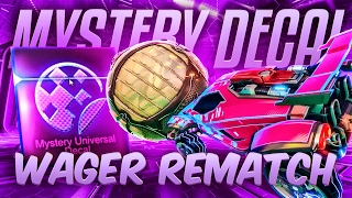 ROCKET LEAGUE MYSTERY DECAL WAGER REMATCH