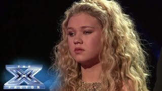 Rion Paige is Eliminated From The X Factor - THE X FACTOR USA 2013