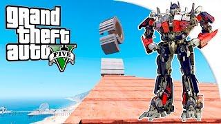 GTA 5 Моды: Трансформер на рампах! - Карты на прохождение ✅