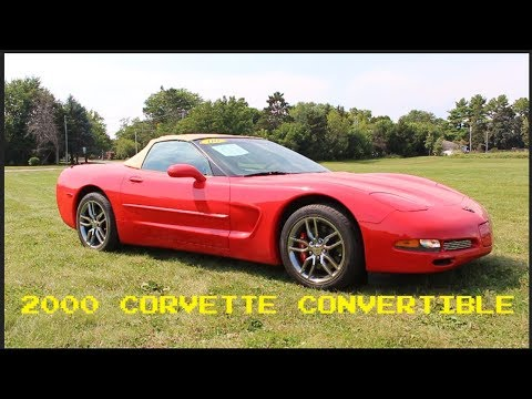 It S More Cool Old Stuff 2000 Chevrolet Corvette Convertible For Sale