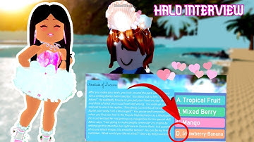 *NEW MERMAID HALO INTERVIEW* WHAT STORY SHE GOT & WHAT ANSWER DID SHE CHOSE?!