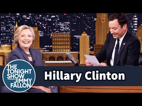 Kid Letters with Hillary Clinton