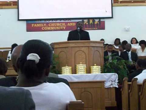 Rev. Elmore Garner Part Three This Church Is Killing Me MCBC Lake Charles, Louisiana