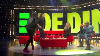 Interview deel 1 Lady Bee : Ali B : Dannie Bles - De Dino Show
